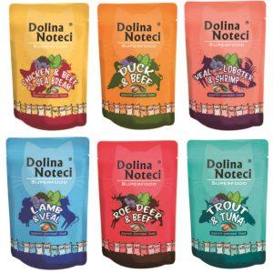 Γνωρίστε τη νέα σειρά Dolina Noteci Superfood σε pouch για σκύλους και γάτες!