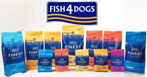 Nέες βελτιωμένες συσκευασίες Fish4Dogs